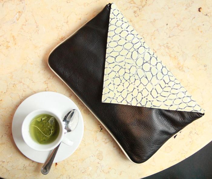 Jess Rizzuti eco-friendly purse