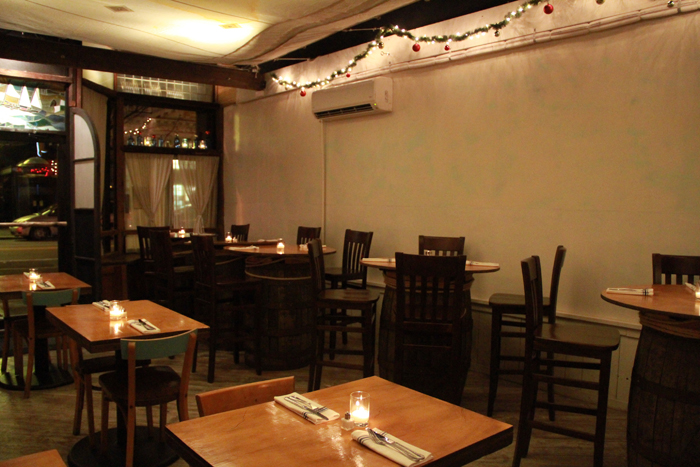 The Bounty serves sustainable seafood in Greenpoint.