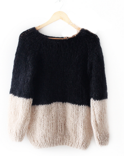 Mohair sweater // Handmade in Germany
