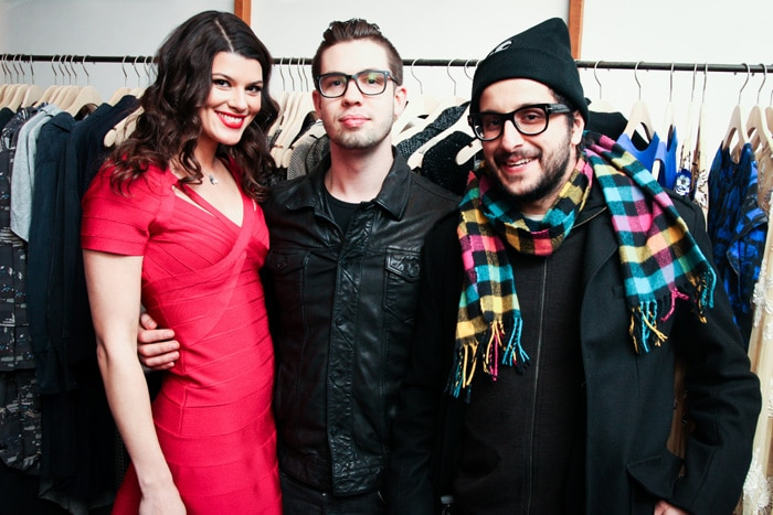 Summer Rayne Oakes, Joey Lawrence, Massimo Lobugilo