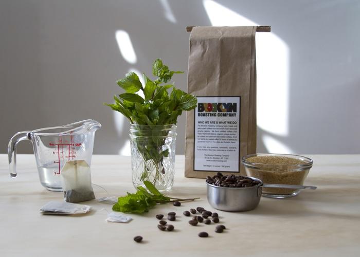 Coffee Mint Scrub Recipe