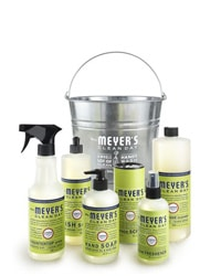 A Cleaning Kit with Bucket - I've listed out individual items below, but this is awesome. Lemon Verbana forever and ever and all over your apartment. Heaven.