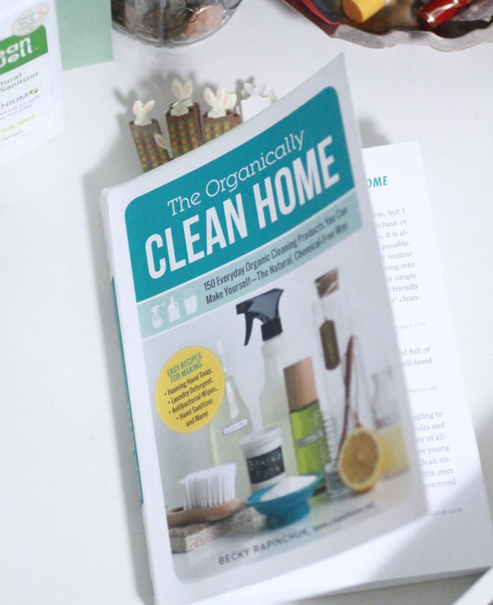 Win a copy of The Organically Clean Home, full of non-toxic cleaning recipes!
