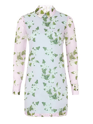 Floral, long-sleeved dress // Beautiful Soul London