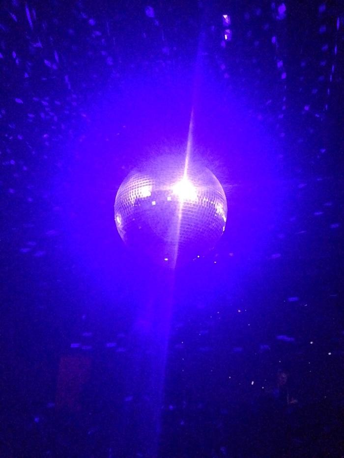 Disco Ball at Verboten