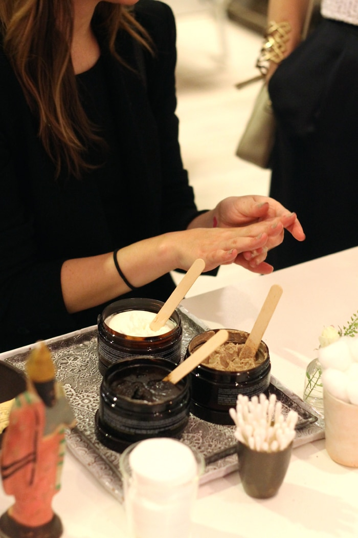 Juara gave out hand massages with its Bali-inspired products.