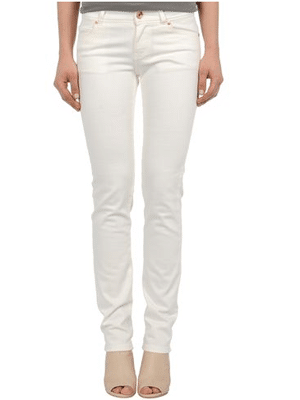 Good Society organic white jeans