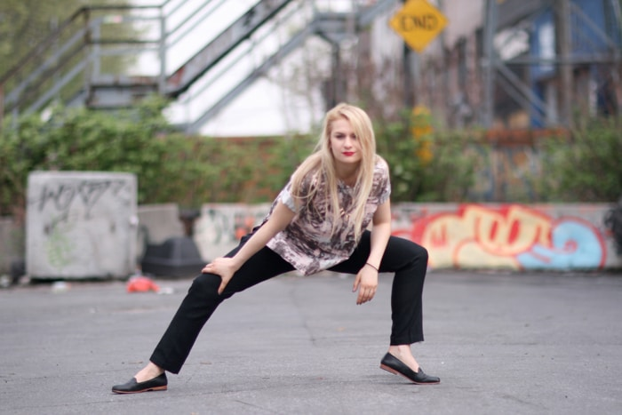 Adriana Recchia Linie f/W 14 // photo credit Annalee Bloomfield
