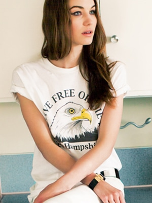 Emerson Live Free or Die t-shirt // made in the US