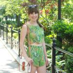 Sustainable Street Style: Bombshell Summer Fashion From Samantha Pleet