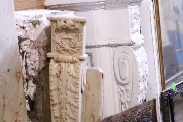 Marble mantelpieces