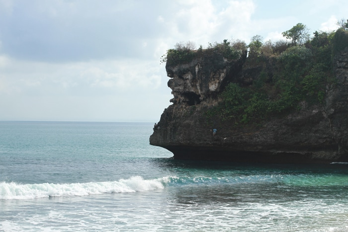 Cliffs at Bangalan surf beach