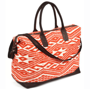 Weekender bag by JADEtribe // ethical and sustainable