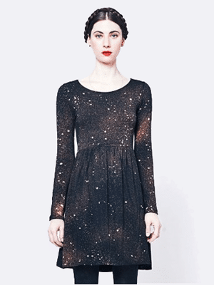 Mary Myer galaxy print dress