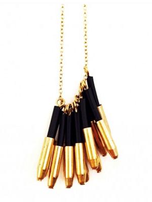 Michelle Hur cluster necklace
