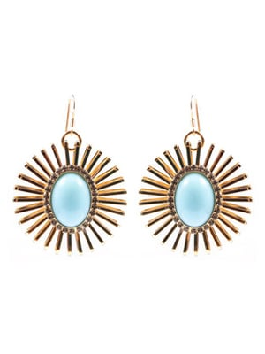 Anton Heunis earrings |fair trade craftsmenship with salvaged materials