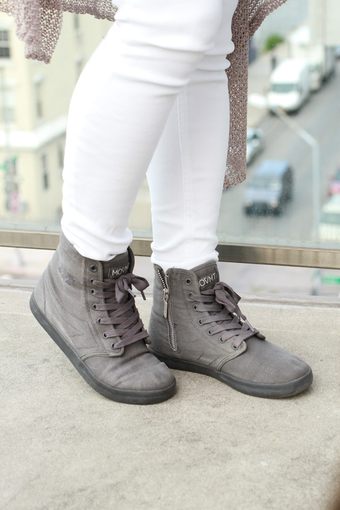 People's Movement Eco-Friendly High Top Sneakers