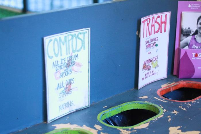 Composting and trash