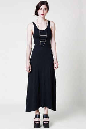 Mary Meyer maxidress |organic jersey cotton, zero-waste and made in the U.S.