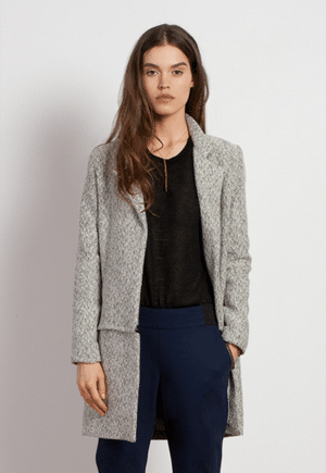 Line Dry Apparel Grethe coat | Reversible and transformable