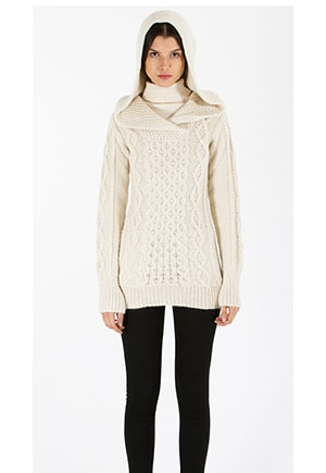 Ethically made fisherman's sweater