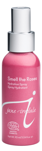 100% of profits from the sale of Smell the Jane Iredale's Roses Hydration Spray will be donated to Living Beyond Breast Cancer®