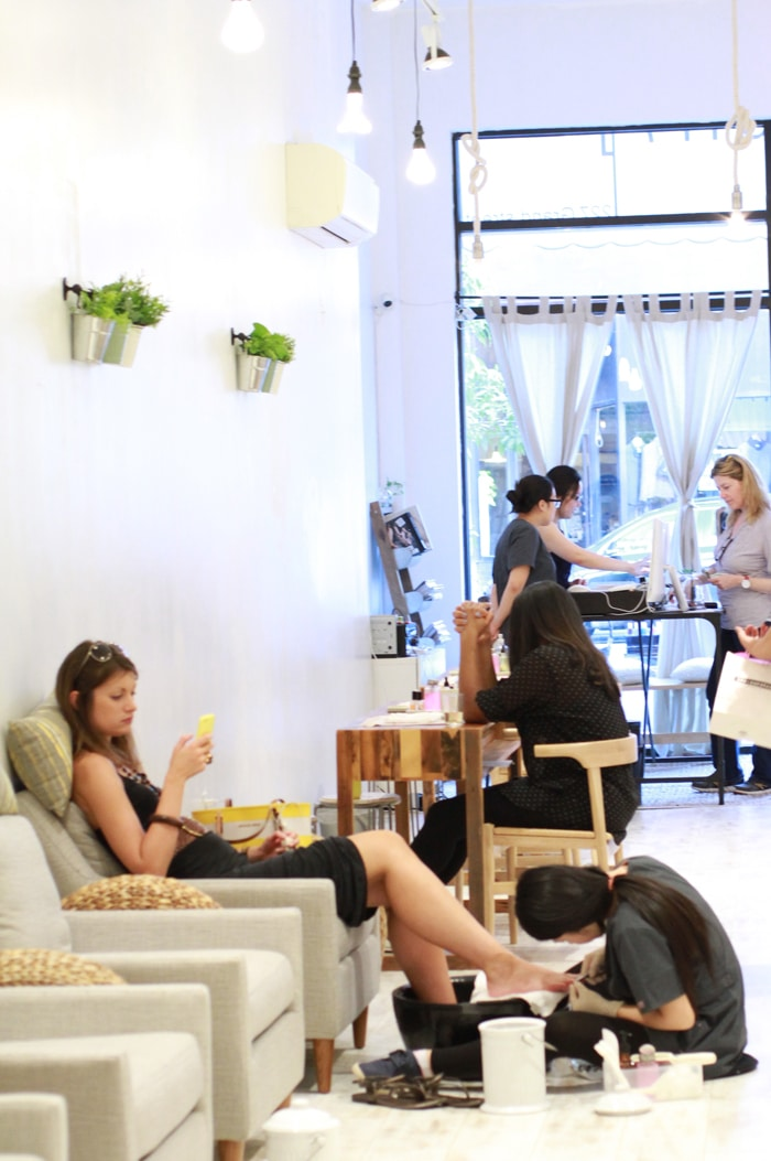 Non toxic and eco friendly nail salon ph7 opens in for 24 nail salon nyc