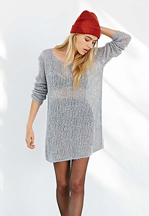 Kimchi Sweater Dress at Urban Outfitters // Imported