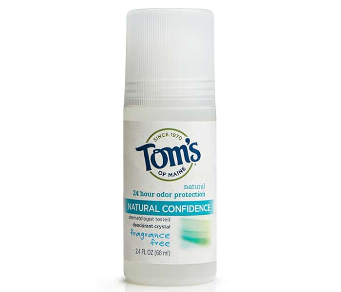 Tom's of Maine crystal deodorant review