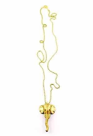 Elephant Ear Necklace