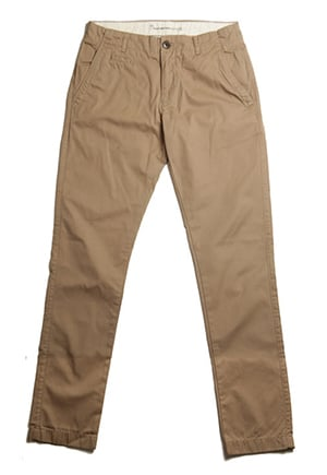 Organic cotton pants, non-toxic dyes, GOTS-certified