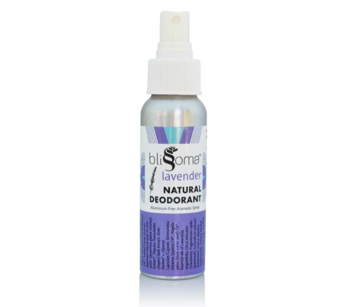 Blissoma Lavender deodorant spray review
