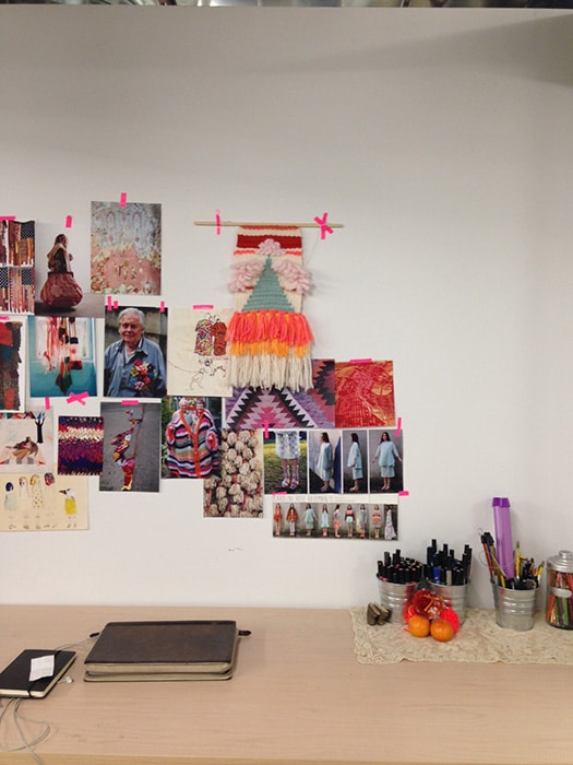 Caroline Rose Kaufman's workspace