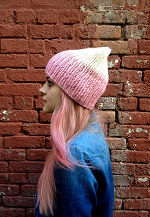 Upcycled Knit Beanies