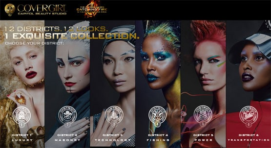 Covergirl took the opportunity of Hunger Games to sell us toxic makeup.