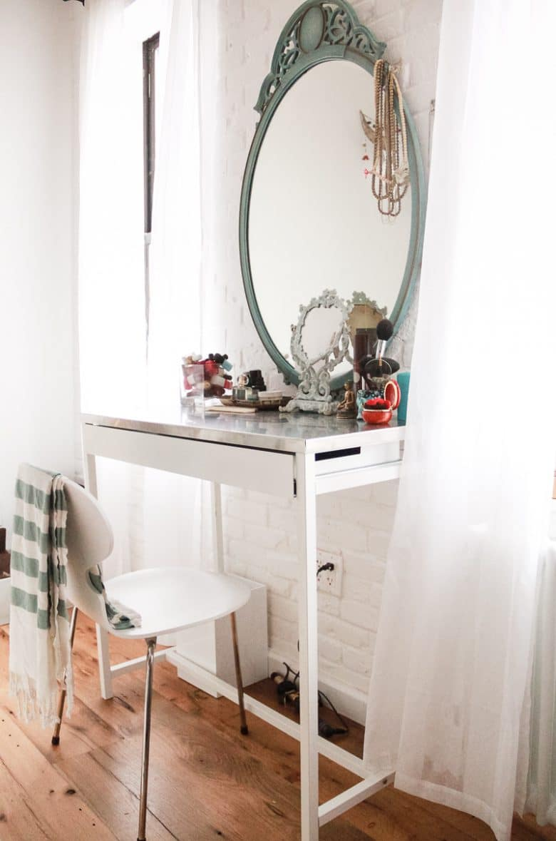 How We Renovated Our Tiny Apartment To Maximize Space Eco Friendly Bedroom Decor Ideas Ecocult