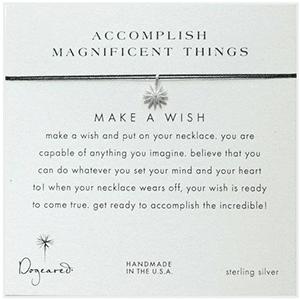 Accomplish Amazing Things wish necklace