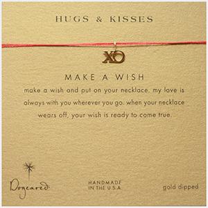 xo wish necklace #valentinesday