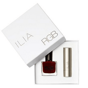 Ilia and RGB non-toxic beauty set