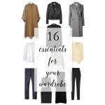 The 16 Wardrobe Basics, Ethically Made