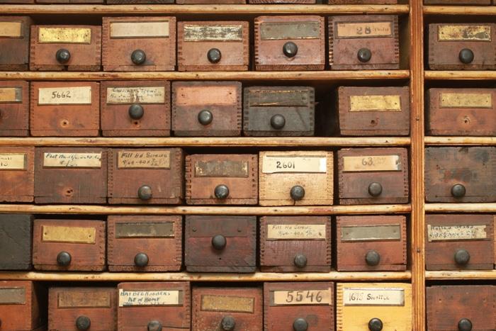 Melissa Joy Manning vintage drawers