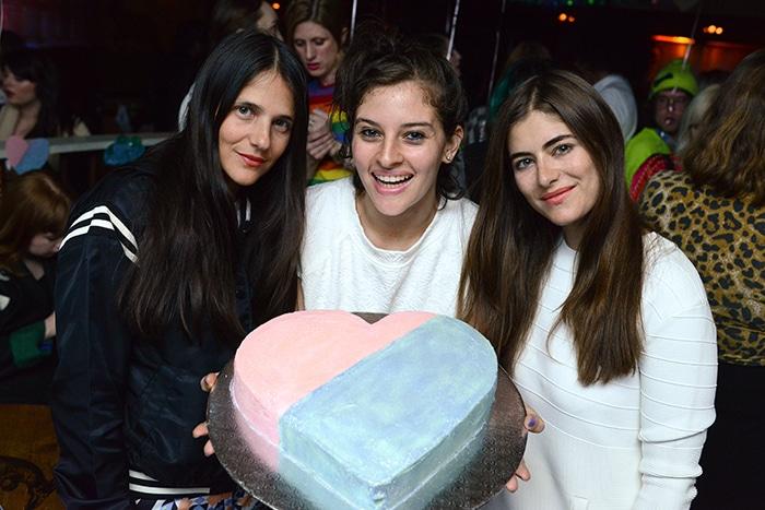 A Flour Shop cake, Annette Stephens, Amirah Kassem, Phoebe Stephens