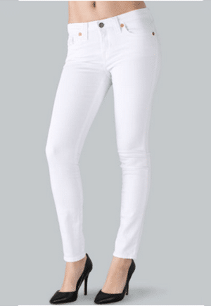 Big Star white jeans at Kaight // eco-friendly