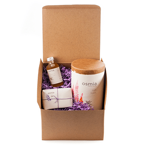 Mother's Day gift set of organic products