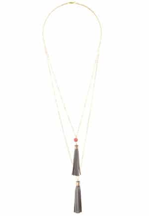 Mother's Day: Tassel Necklace made by artisans in Ecuador