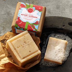 Mother's Day gift: soap for after gardening