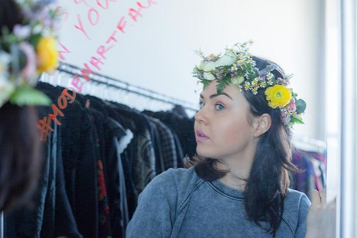 Emma of Past Fashion Future. Photo credit: Julia Pinter