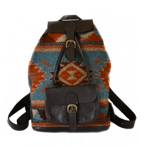 Non-exploitative festival fashion // Backpack handmade by Zapotec artisans in Oaxaca