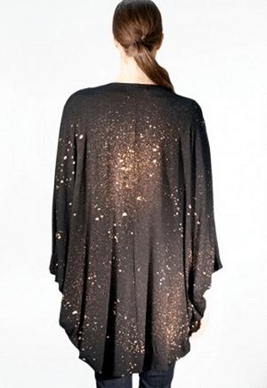 Non-exploitative festival fashion // galaxy jacket made in New York
