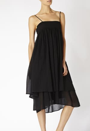 Non-exploitative festival fashion // Dress made from GOTS-certified organic cotton